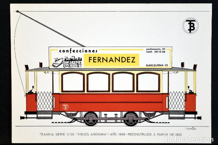 Postales: COLECCIÓN LOTE 56 POSTALES CENTENARIO DEL TRANVÍA VEHÍCULOS TRANSPORTES DE BARCELONA - Foto 16 - 73005487