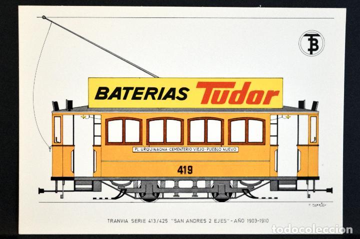 Postales: COLECCIÓN LOTE 56 POSTALES CENTENARIO DEL TRANVÍA VEHÍCULOS TRANSPORTES DE BARCELONA - Foto 22 - 73005487