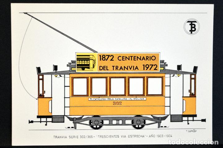 Postales: COLECCIÓN LOTE 56 POSTALES CENTENARIO DEL TRANVÍA VEHÍCULOS TRANSPORTES DE BARCELONA - Foto 26 - 73005487
