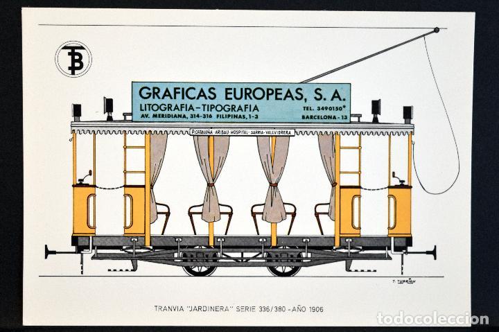 Postales: COLECCIÓN LOTE 56 POSTALES CENTENARIO DEL TRANVÍA VEHÍCULOS TRANSPORTES DE BARCELONA - Foto 28 - 73005487