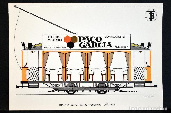 Postales: COLECCIÓN LOTE 56 POSTALES CENTENARIO DEL TRANVÍA VEHÍCULOS TRANSPORTES DE BARCELONA - Foto 30 - 73005487