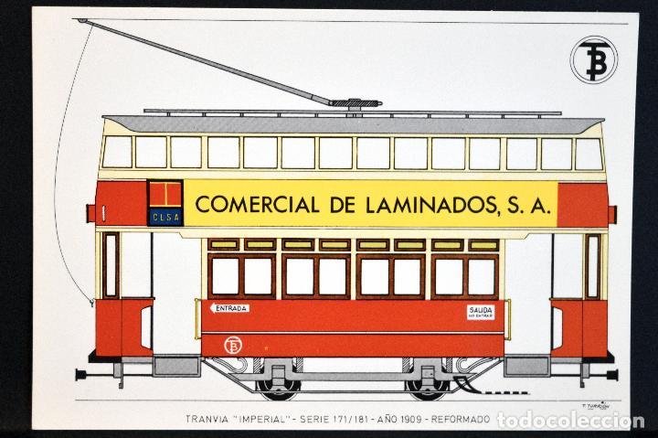 Postales: COLECCIÓN LOTE 56 POSTALES CENTENARIO DEL TRANVÍA VEHÍCULOS TRANSPORTES DE BARCELONA - Foto 36 - 73005487