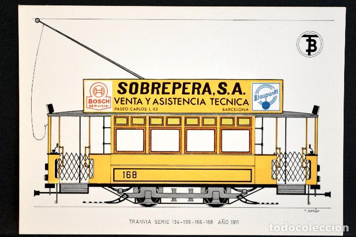 Postales: COLECCIÓN LOTE 56 POSTALES CENTENARIO DEL TRANVÍA VEHÍCULOS TRANSPORTES DE BARCELONA - Foto 42 - 73005487