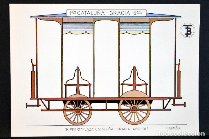 Postales: COLECCIÓN LOTE 56 POSTALES CENTENARIO DEL TRANVÍA VEHÍCULOS TRANSPORTES DE BARCELONA - Foto 48 - 73005487