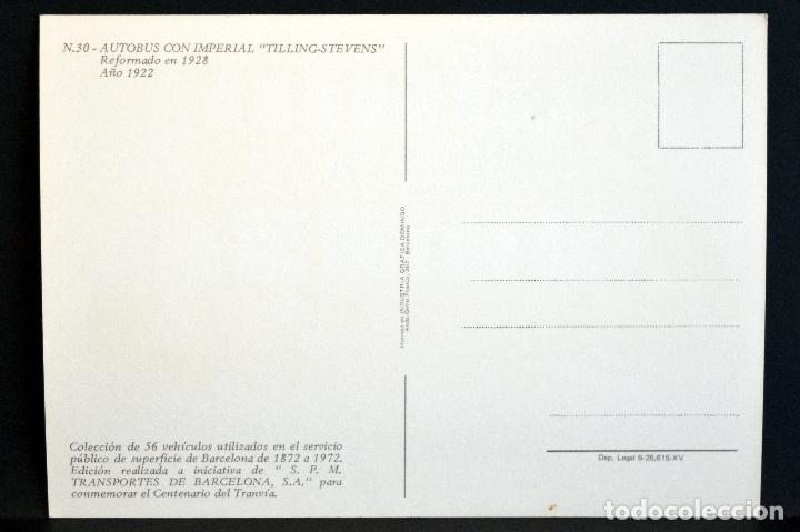 Postales: COLECCIÓN LOTE 56 POSTALES CENTENARIO DEL TRANVÍA VEHÍCULOS TRANSPORTES DE BARCELONA - Foto 61 - 73005487