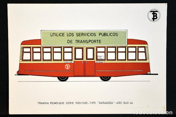 Postales: COLECCIÓN LOTE 56 POSTALES CENTENARIO DEL TRANVÍA VEHÍCULOS TRANSPORTES DE BARCELONA - Foto 78 - 73005487