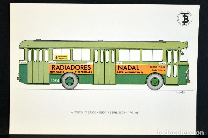 Postales: COLECCIÓN LOTE 56 POSTALES CENTENARIO DEL TRANVÍA VEHÍCULOS TRANSPORTES DE BARCELONA - Foto 98 - 73005487