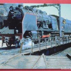 Postales: LOCOMOTORA 240 - DEPOSITO DE ARCOS DE JALON - EUROFER - 121. Lote 73932715