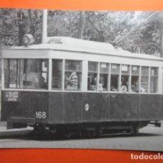 Postales: TRANVIA DE BARCELONA COCHE 168 PLAZA UNIVERSIDAD 1953 - NO CIRC. EUROFER. Lote 75248631