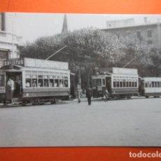 Postales: TRANVIA DE BARCELONA COCHE 239 819 1412 PLAZA CATALUÑA 1949 - NO CIRC. EUROFER. Lote 75249403