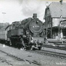 Postales: FERROCARRIL-ESTACIÓN WALLUF- ALEMANIA- 1964 -FOTOGRÁFICA -MUY RARA. Lote 75585931
