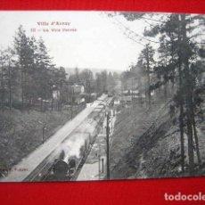 Postales: POSTAL DE TRENES Y FERROCARRIL F. FLEURY.. Lote 79639201