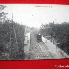 Postales: POSTAL DE TRENES Y FERROCARRIL F. FLEURY.. Lote 79639701
