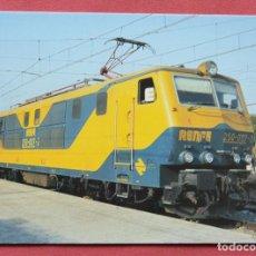 Cartoline: RENFE - LOCOMOTORA ELECTRICA - SAN ANDRES CONDAL - BARCELONA - LIBROMPORT Nº 18. Lote 81205592