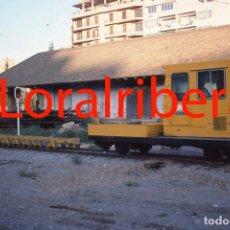 Postales: DIAPOSITIVA DRESINA ROBEL FEVE MALLORCA BALEARES 1984 KODACHROME 35MM SLIDE FOTO TREN FERROCARRIL . Lote 83326952