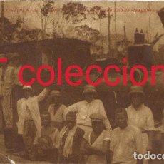 Postales: GUINEA ESPAÑOLA. ANTIGUA POSTAL. LOCOMOTORA VAPOR TREN MADERERO. AÑOS 30. Lote 84301644