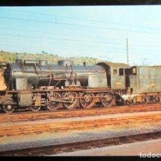 Postales: POSTAL FERROCARRIL TREN LOCOMOTORA 240 F 2262 EX. M.Z.A. SERIE 1400-2052CV MTM-1922 MORA LA NOVA. Lote 84644144