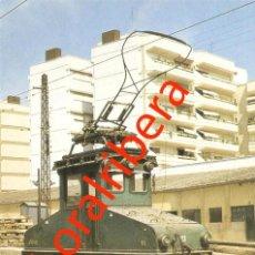 Postales: POSTAL 419 FEVE T11 VALENCIA PONT DE FUSTA 1980 EUROFER BERLIET CTFV TREN FERROCARRIL . Lote 87303652