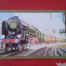 Postales: POSTAL POST CARD THE NOSTALGIA POSTCARD VINTAGE THE GOLDEN ARROW TRAIN TREN VICTORIA STATION LONDON . Lote 88111316