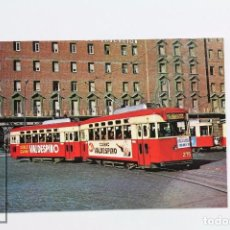 Postales - Postal De Tramvia - Tram-vies De Barcelona. Nº 15 - Cotxe 275-246 -Valdespino- Eurofer - 95035675