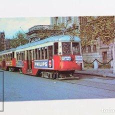 Postales - Postal De Tramvia - Tram-vies De Barcelona. Nº 19 - Cotxe 981 - Philips - Eurofer - 145049993