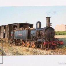 Postales: POSTAL DE TREN - Nº 68 - FERROCARRIL ALCOY GANDIA - LOCOMOTORA Nº 7 COCENTAINA/GANDIA 1968 - EUROFER. Lote 245785835