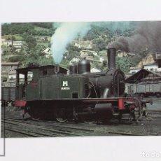 Postales: POSTAL DE TREN - Nº 69 - LOCOMOTORA 030-0232 PALAU - MOLLET-CALDES Y SARRIÀ- BARCELONA - EUROFER. Lote 182560221
