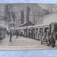 Postales: POSTAL TREN CREMALLERA DE SUPERBAGNÈRES (LUCHON- FRANCIA) - PRINCIPIOS SIGLO XX. Lote 95307399