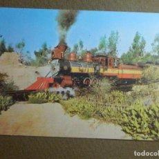 Postales: POSTAL - TRENES Y LOCOMOTORAS - KNOTT´S BERRY FARM - EEUU - ESCRITA DESDE USA - CON SELLOS-. Lote 95782219