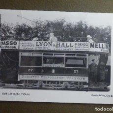 Postales: POSTAL - TRENES Y LOCOMOTORAS - M77 BRIGHTON TRAM - PAMLIN PRINTS CROYDON - NE-NC. Lote 95782375