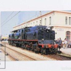 Postales: POSTAL - Nº 253 - LOCOMOTORA VAPOR 282-F-0421 SERIE 282-F-0421/0430 - EST. VIC 1990 - EUROFER. Lote 95810263