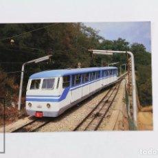 Postales: POSTAL DE TREN - Nº 256 - FUNICULAR TIBIDABO - BARCELONA 1987- EUROFER. Lote 95810947