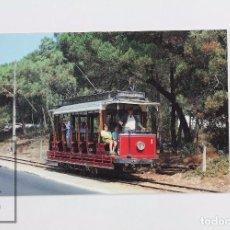 Postales: POSTAL DE TREN - Nº 258 - TRANVÍAS DE PORTUGAL SINTRA-ATLÁNTICO - AÑO 1989 - EUROFER. Lote 95811675