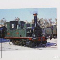 Postales: POSTAL - Nº 262 - LOCOMOTORA DE VAPOR 030-0204 TARRACO - VILANOVA Y LA GELTRÚ 1972 - EUROFER. Lote 95812195