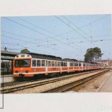 Postales: POSTAL -Nº 263- AUTOMOTOR DIESEL SERIE 3001A 3008/3010...- EST. MARTORELL-BARCELONA 1989 - EUROFER. Lote 95812327
