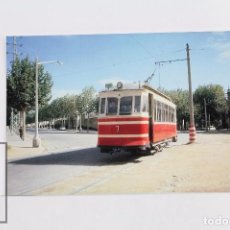 Postales: POSTAL DE TRANVIA -Nº 264- TRAMVIA DE MATARÓ A ARGENTONA COCHE Nº 7 - EUROFER. Lote 95812475