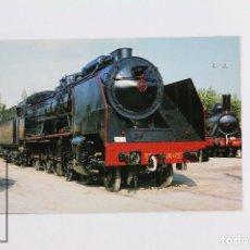 Postales: POSTAL DE TREN - Nº 278 LOCOMOTORA VAPOR 240F/2591 - VILANOVA I LA GELTRÚ 1990 - EUROFER. Lote 96479863