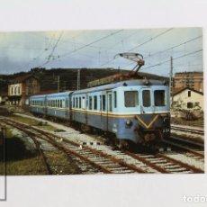 Postales: POSTAL DE TREN - Nº 283 AUTOMOTOR MCD SERIE 3151-3154 - ZUMAYA 1986 - EUROFER. Lote 117878755