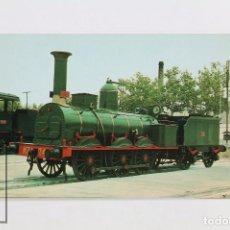 Postales: POSTAL DE TREN - Nº 293 LOCOMOTORA VAPOR MZA 246 - VILANOVA I LA GELTRÚ 1972 - EUROFER. Lote 96481639