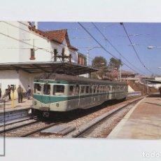 Postales: POSTAL DE TREN - Nº 307 F.C DE SARRIÀ A BARCELONA- VALLDOREIX 1991 HOMENAJE Y DESPEDIDA - EUROFER. Lote 172128944