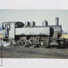 Postales: POSTAL DE TREN - Nº 326 LOCOMOTORA VAPOR 030 PT - PONFERRADA 1976 - EUROFER. Lote 96491699