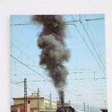 Postales: POSTAL DE TREN - Nº 353 TREN ESPECIAL DE VAPOR DE LA AZAF - CALATAYUD 1992 - EUROFER. Lote 221175101
