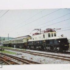 Postales: POSTAL DE TREN - Nº 360 TREN ESPECIAL EUSKO TRENBIDEAK - ZUMAYA EMPALME 1992 - EUROFER. Lote 117878782