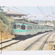 Postales: POSTAL DE TREN - Nº 436 COMPOSICIÓN MC-R-M-MC COCHES 904, 612, 701 Y 614 - VALLDOREIX 1993 - EUROFER. Lote 178833745