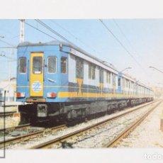Postales: POSTAL DE TREN - Nº 444 SUBURBANO DE MADRID M-302 - ALUCHE, MADRID 1980 - EUROFER. Lote 254746145