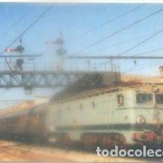 Postales: POSTAL DE TRENES. LOCOMOTORA ELECT. 276-075-9. CONST. ALSTHOM, MACOSA. 1956. Nº 185 P-TREN-1864. Lote 97196651