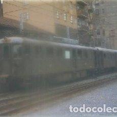 Postales: POSTAL DE TRENES. AUTOMOTOR ELECT. MCD-3. CONST. GANZ EN 1928. Nº 191 P-TREN-1865. Lote 97196715