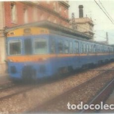 Postales: POSTAL DE TRENES. UNIDAD ELECT. SERIE UT-440. CONST. CAF Y MACOSA. AÑO 1974. Nº 180 P-TREN-1868. Lote 97196907