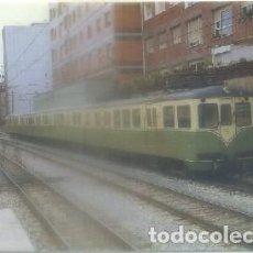 Postales: POSTAL DE TRENES. LOCOMOTORA F.C. SUBURBANO DE BILBAO. CONST FTS. 1969. Nº 211 P-TREN-1874. Lote 97198447