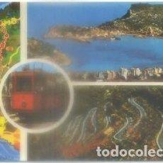 Postales: POSTAL DE TRENES. MALLORCA. RUTAS A SOLLER Y PTO. P-TREN-1876. Lote 97198679